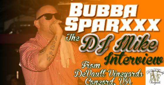 Bubba Sparxxx Interview with DJ Mike