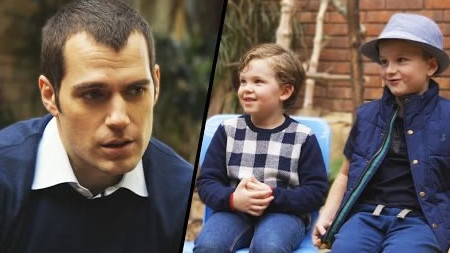 Batman Or Superman Kids Choose With Henry Cavill